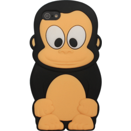 Case Case for Apple iPhone 5/5s/SE, Black Monkey silicone