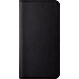Folio Flip case with card slot & stand for Nokia 6 (2018), Black