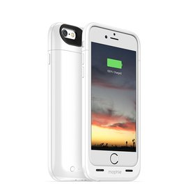 Coque batterie magnetique iPhone 6/6S -   JUICEPACK AIR - White