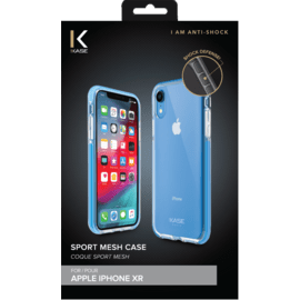 Sport Mesh Case for Apple iPhone XR, Denim Blue
