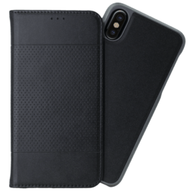 Case 2-in-1 Magnetic Slim Wallet & Case for Apple iPhone X, Black