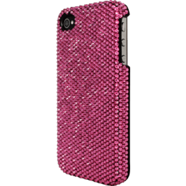 Case with Crystals for Apple iPhone 4/4S, Pink
