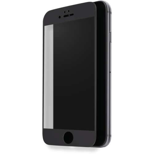 Case Full Coverage Tempered Glass Screen Protector for Apple iPhone 7, Black