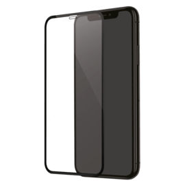 Curved Edge-to-Edge Tempered Glass Screen Protector for Apple iPhone XS Max/11 Pro Max, Black