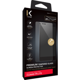 Premium Tempered Glass Screen Protector for Huawei P9 Lite, Transparent