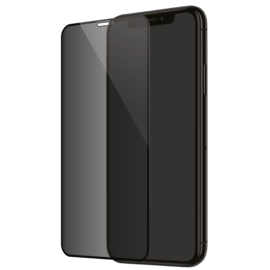Full Coverage Privacy Tempered Glass Screen Protector for Apple iPhone XS Max/11 Pro Max, Black
