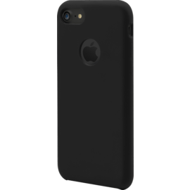 Soft gel silicone case for Apple iPhone 7/8, Satin Black