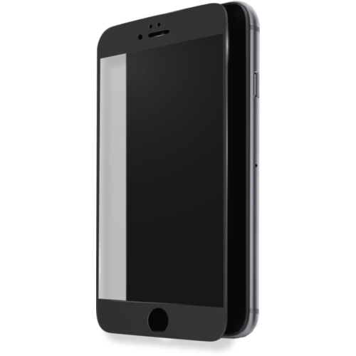 Case Full Coverage Tempered Glass Screen Protector for Apple iPhone 7 Plus, Black