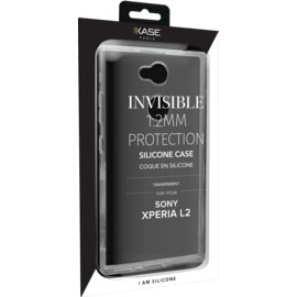 Invisible Slim Case for Sony Xperia L2 1.2mm, Transparent