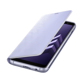 Flip Neon Lavender for Samsung A8
