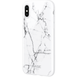 Marble Motif Case for Apple iPhone X/XS, Bianco White