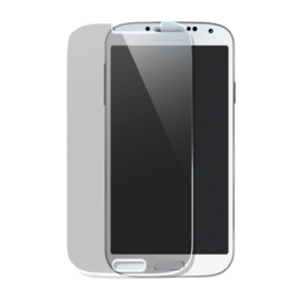 Premium Tempered Glass Screen Protector for Samsung Galaxy S4, Transparent