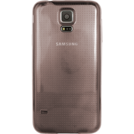Coque Ultra Slim invisible pour Samsung Galaxy S5 0.6mm, Transparent Noir