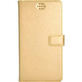 Case Universal flip case for Smartphone (up to 4.7 inch), Golden