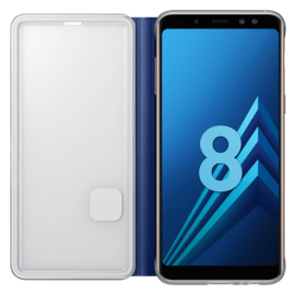 Flip Neon Blue for Samsung A8