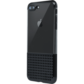 Invisible Ultra Slim Studded Case for Apple iPhone 7 Plus/ 8 Plus 0.8mm, Jet Black
