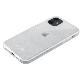 Custodia ibrida scintillante invisibile per Apple iPhone 11, trasparente