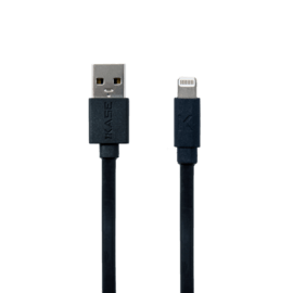 Case Apple MFi certified Lightning Charge/Sync Cable (0.3M), Cool Black