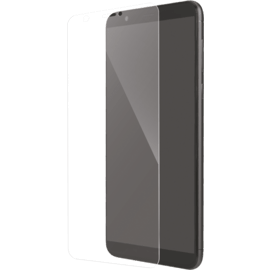Protection d'écran en verre trempé (100% de surface couverte) pour Huawei P Smart, Transparent