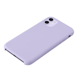 Soft Gel Silicone Case for Apple iPhone 11, Lilac Purple