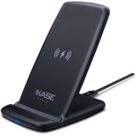 Ultra Slim Universal Quick Qi Wireless Charging Stand (Quick Charge-10W), Black
