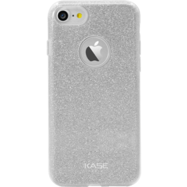 Sparkly Glitter Slim Case for Apple iPhone 7, Silver