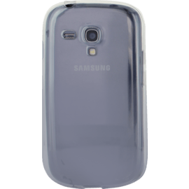 Case Coque pour Samsung Galaxy S3 mini, silicone Transparent