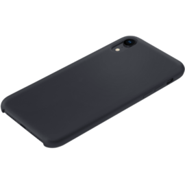 Soft Gel Silicone Case for Apple iPhone XR, Satin Black