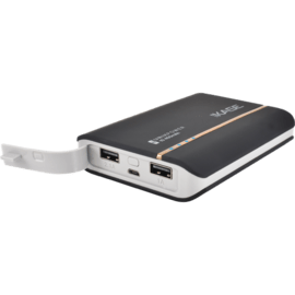 Universal PowerHouse external battery, 10400 mAh, Black