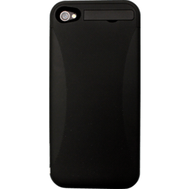 Case Power case external battery 2400mAh for Apple iPhone 4/4S, Black