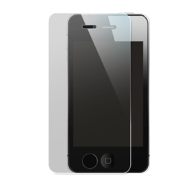 Premium Tempered Glass Screen Protector for Apple iPhone 4/4S, Transparent