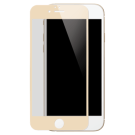 Full Coverage Tempered Glass Screen Protector for iPhone 6/6s, Gold