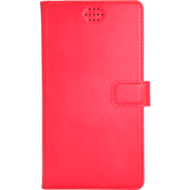 Case Universal flip case for Smartphone (up to 4.7 inch), Lipstick Red