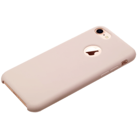 Soft Gel Silicone Case for Apple iPhone 7/8, Sandy Pink
