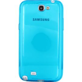 Case Invisible Silicone Case for Samsung Galaxy Note 2 1.2mm, Blue