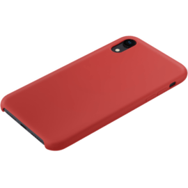 Soft Gel Silicone Case for Apple iPhone XR, Fiery Red