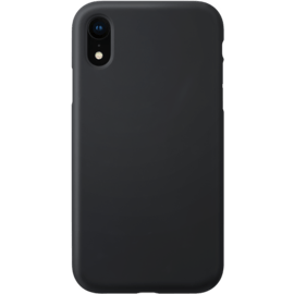 Anti-Shock Soft Gel Silicone Case for Apple iPhone XR, Satin Black