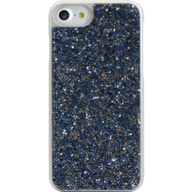 Case Rhinestone Bling case for Apple iPhone 6/6s/7/8, Sapphire Blue & Silver