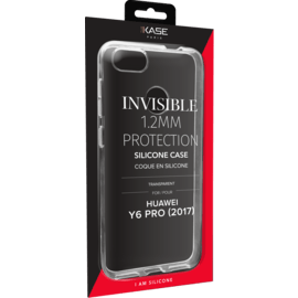 Invisible Slim Case for Huawei Y6 Pro (2017) 1.2mm, Transparent