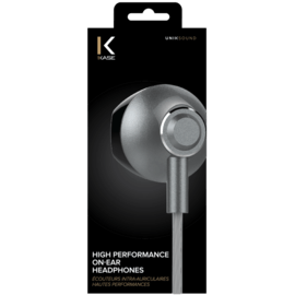 High Performance On-Ear Headphones, Space Grey