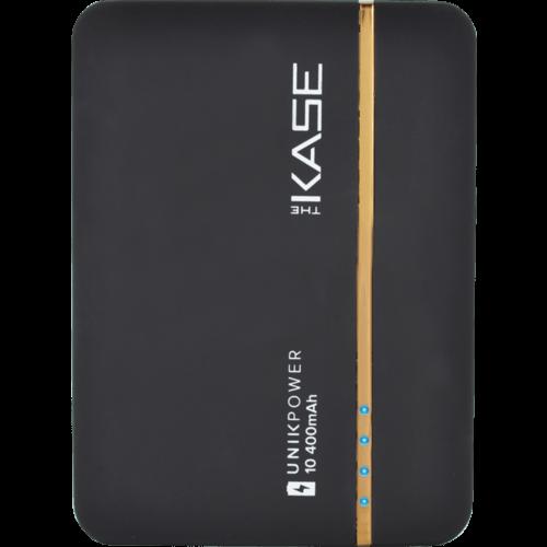 Beau The Kase Createur #13: Case Universal PowerHouse External Battery, 10400 MAh, Black