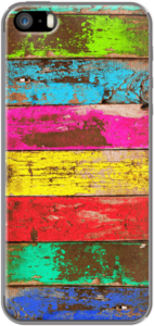 Case Vintage Colored Wood by Diego Tirigall