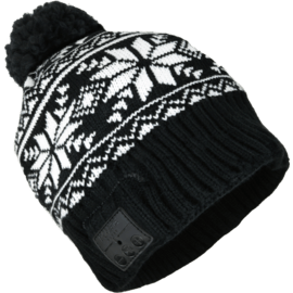 Case POMPOM Fairisle Knit Headphone Beanie