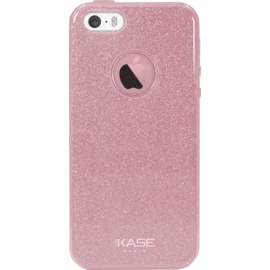 Case Sparkly Glitter Slim Case for Apple iPhone 5/5s/SE, Rose Gold