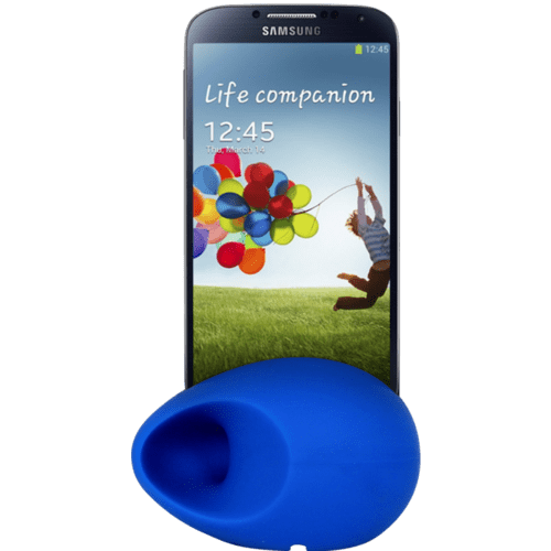 Case Egg Sound amplifier for S III & S IV, Blue