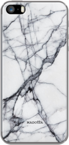Case Cracked White Marble by Madotta
