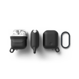 Airpod Waterproof Hang Case noir