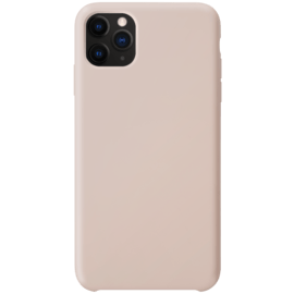 Soft Gel Silicone Case for Apple iPhone 11 Pro Max, Sandy Pink