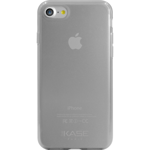 Case Invisible Silicone Case for Apple iPhone 7 1.2 mm, Transparent Grey