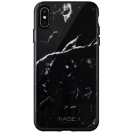 Marble Motif Case for Apple iPhone X/XS, Marquina Black